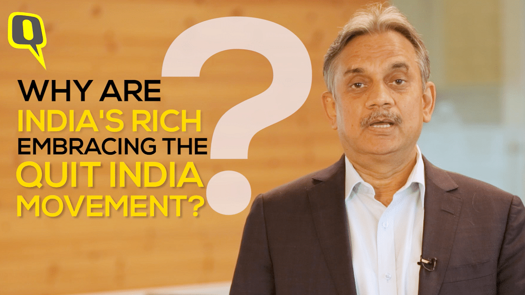 Why Are More Rich Indians Moving Out of the Country Every Year?