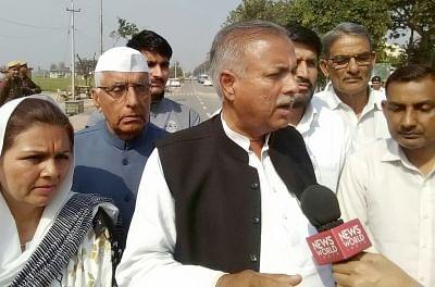 All India Jat Reservation Agitation Committee National chief Yashpal Malik. (Photo: IANS)