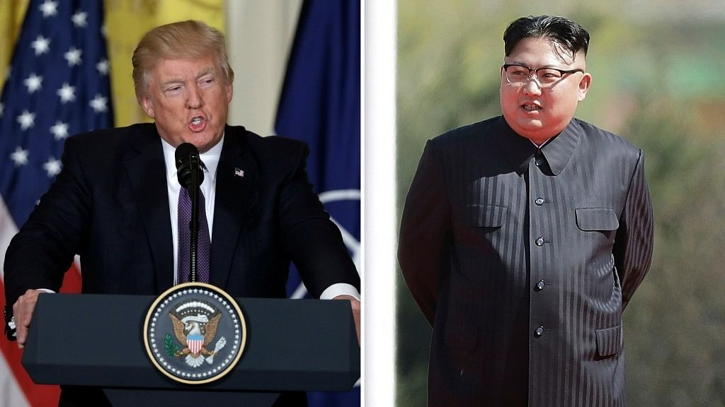 US President Donald Trump and North Korean leader Kim Jong Un.