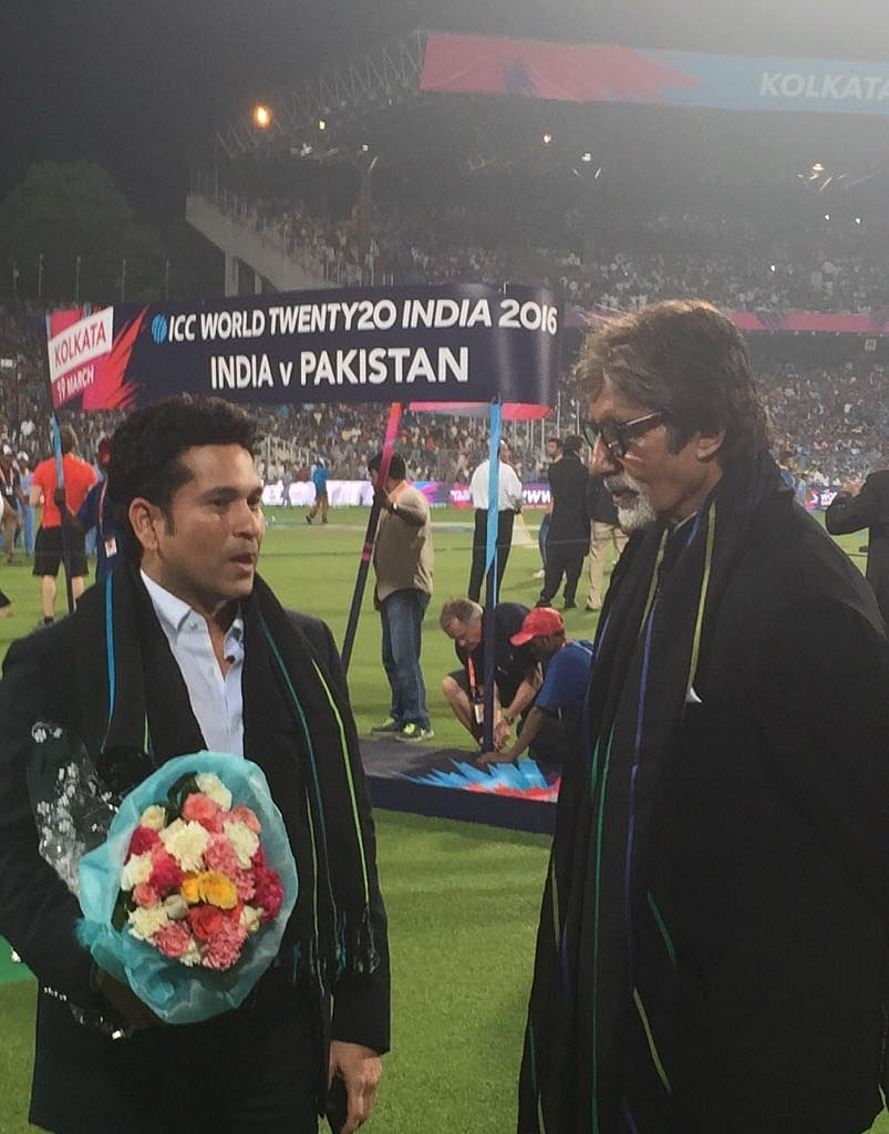 Political leaders, social celebrities and business leaders have lined up to catch Sachin Tendulkar's attention.
