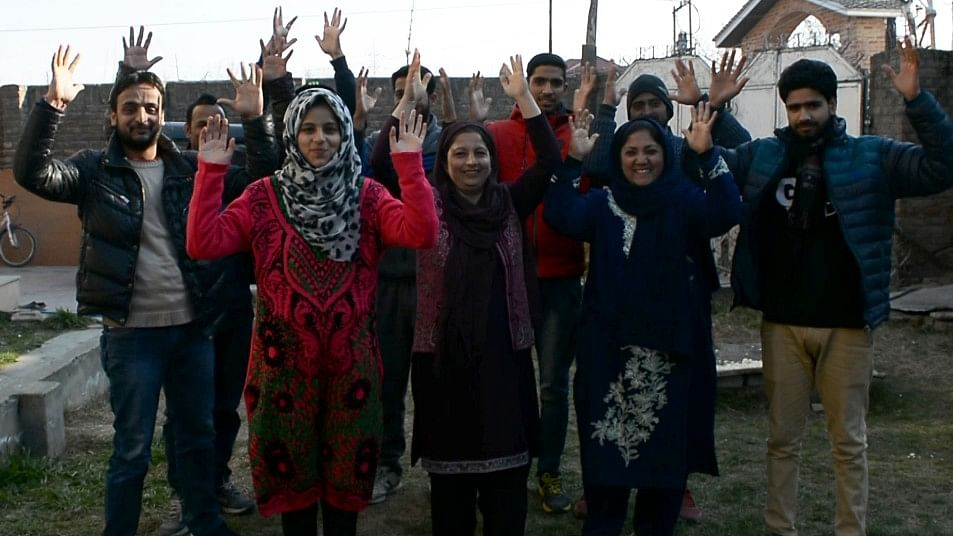 Arwa is a translator for almost 250 Kashmiri sportspersons. She doesn't get paid for this job, yet she does it out of her desire to help them.