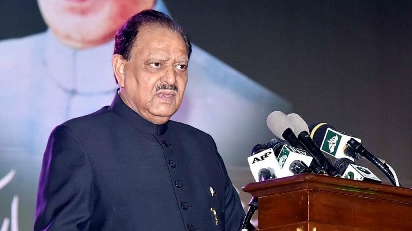 File picture of Pakistan President Mamnoon Hussain.