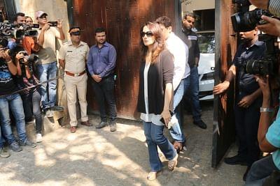 Mumbai: Actress Madhuri Dixit Nene at actor Anil Kapoor