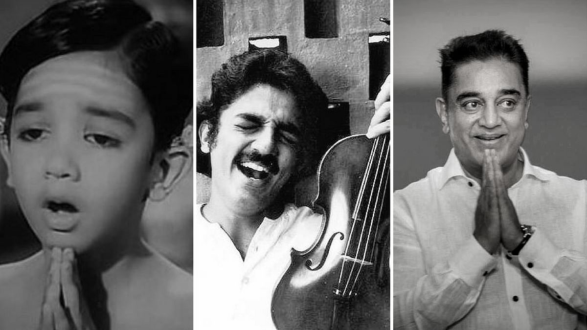 Kamal Haasan Through the Ages - From His Film Debut to Politics