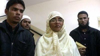 Mother of teenager Junaid Khan, who was stabbed to death in a Mathura-bound train.