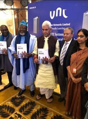New Delhi: Union MoS Communications and Railways Manoj Sinha unveils India