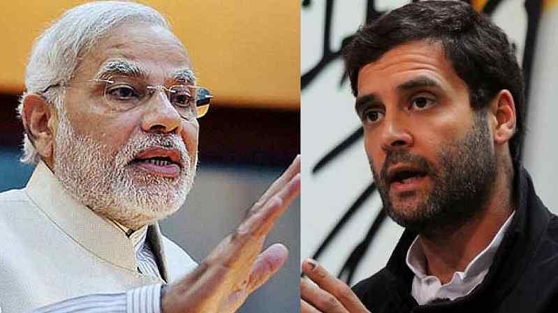 Congress President Rahul Gandhi has once more taken to Twitter to take a jibe at PM Modi.