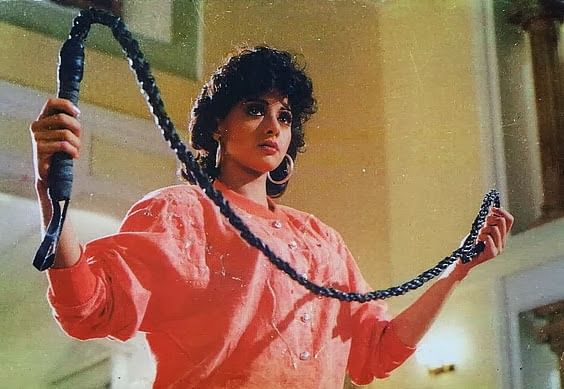 In Pankuj Parashar's 1989 film ChaalBaaz, Sridevi played a double role — shy Anju and a feisty Manju.