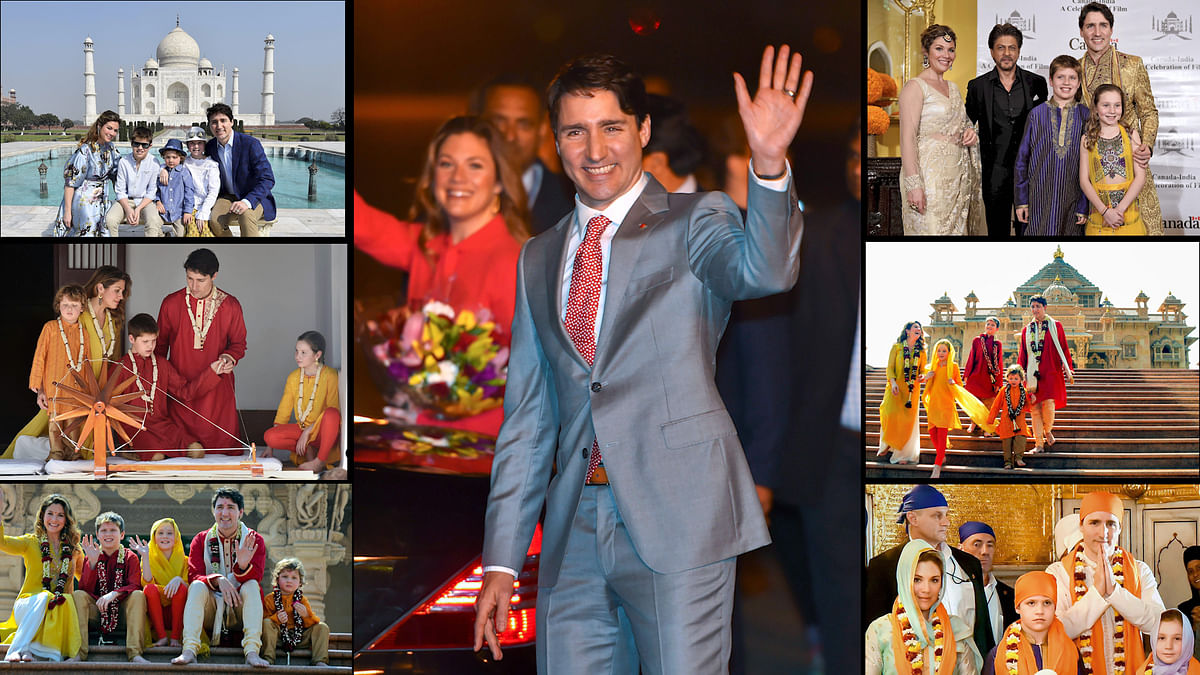Justin Trudeau's India Visit Has Been All Photo-Ops & Blunders