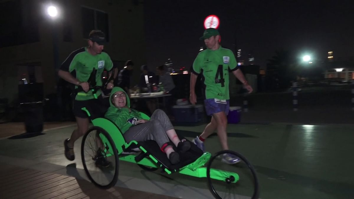 7 Continents, 7 Days: Differently Abled Aussie Does Epic Marathon