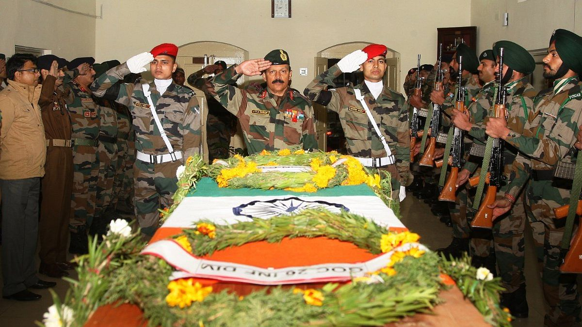 Wreath laying ceremony for Martyr Madan Lal Choudhary