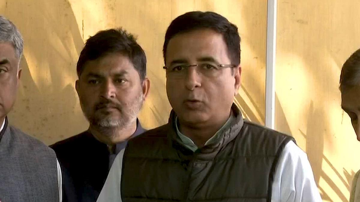 PM Modi Desperate Only for Re-election: Randeep Surjewala