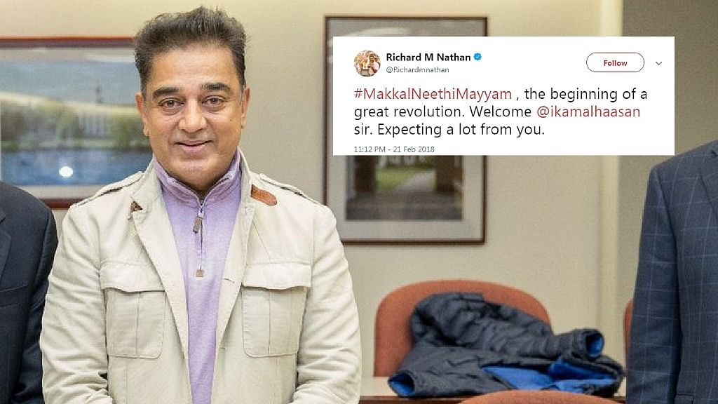"""""""Hope He Does Good For TN"""": Tweeple on Haasan's Political Debut"""
