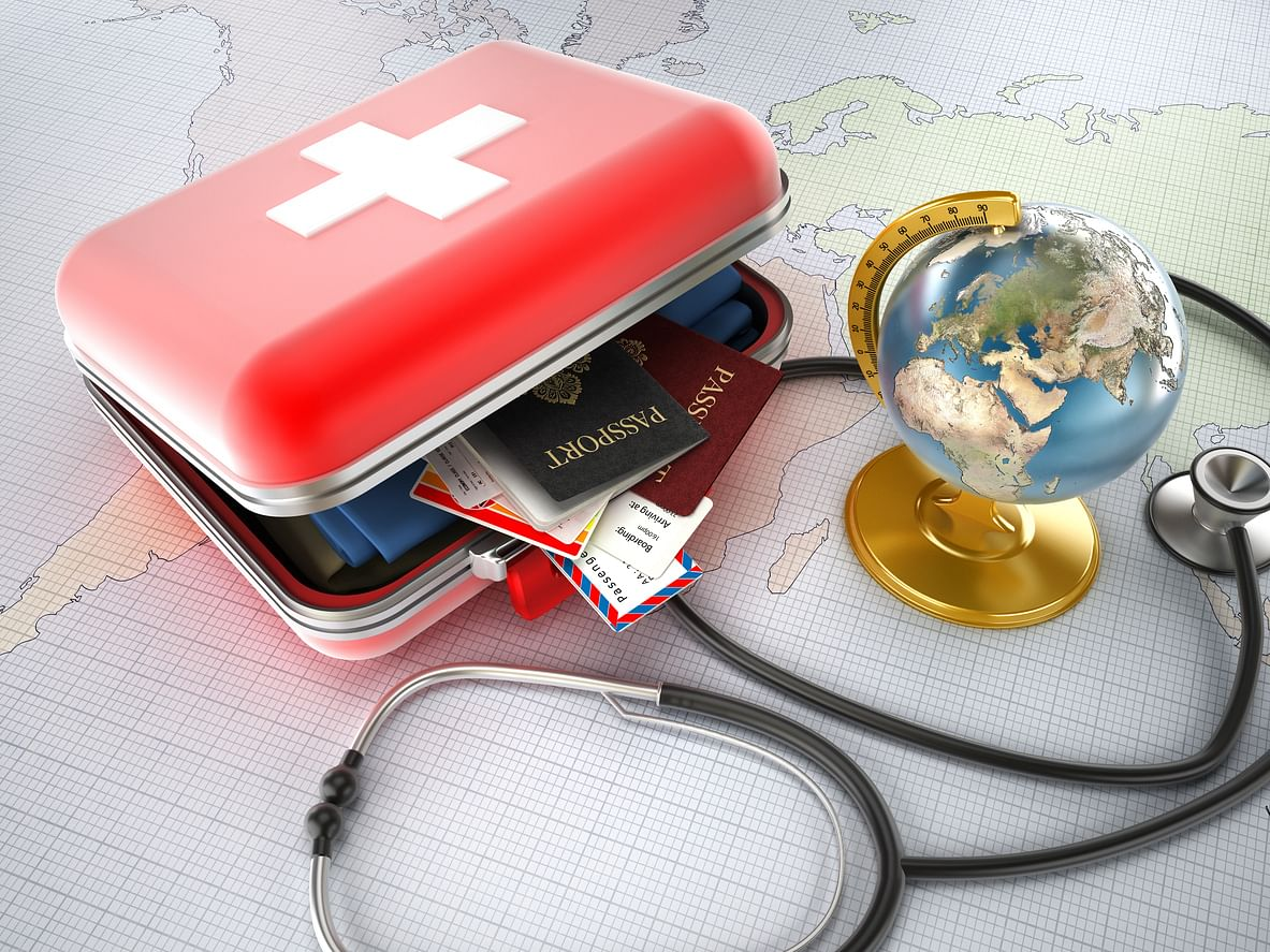 Keep a first aid kit handy while travelling in summers.