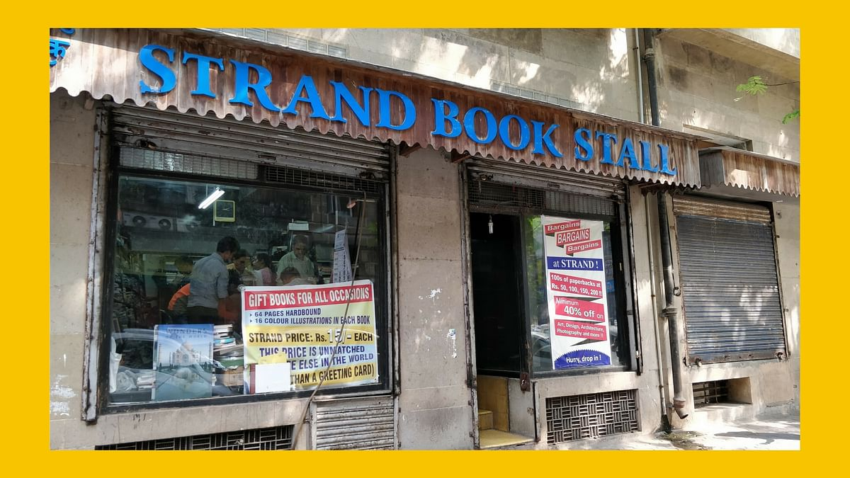 Strand Book Stall at PM Road.