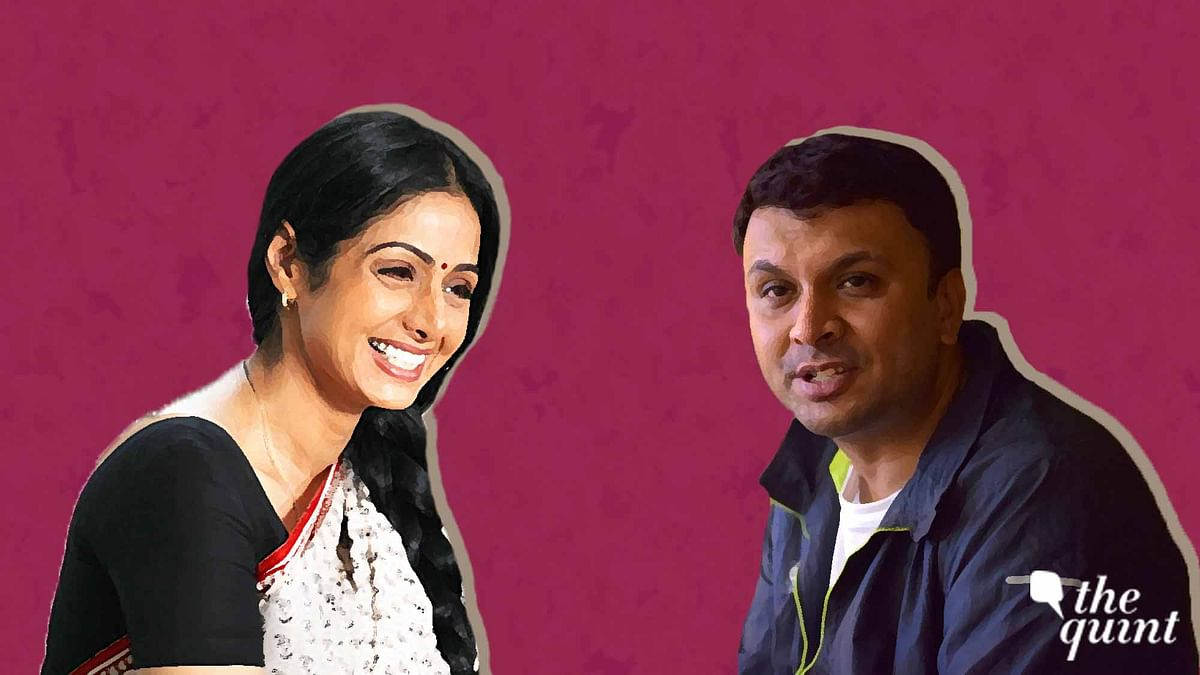 Harish Iyer on how watching Sridevi on screen as he grew up helped shape him as a person.