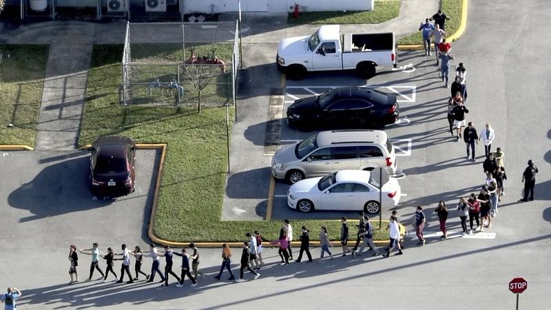 At least 17 Dead After Ex-Student Fires at School in Florida