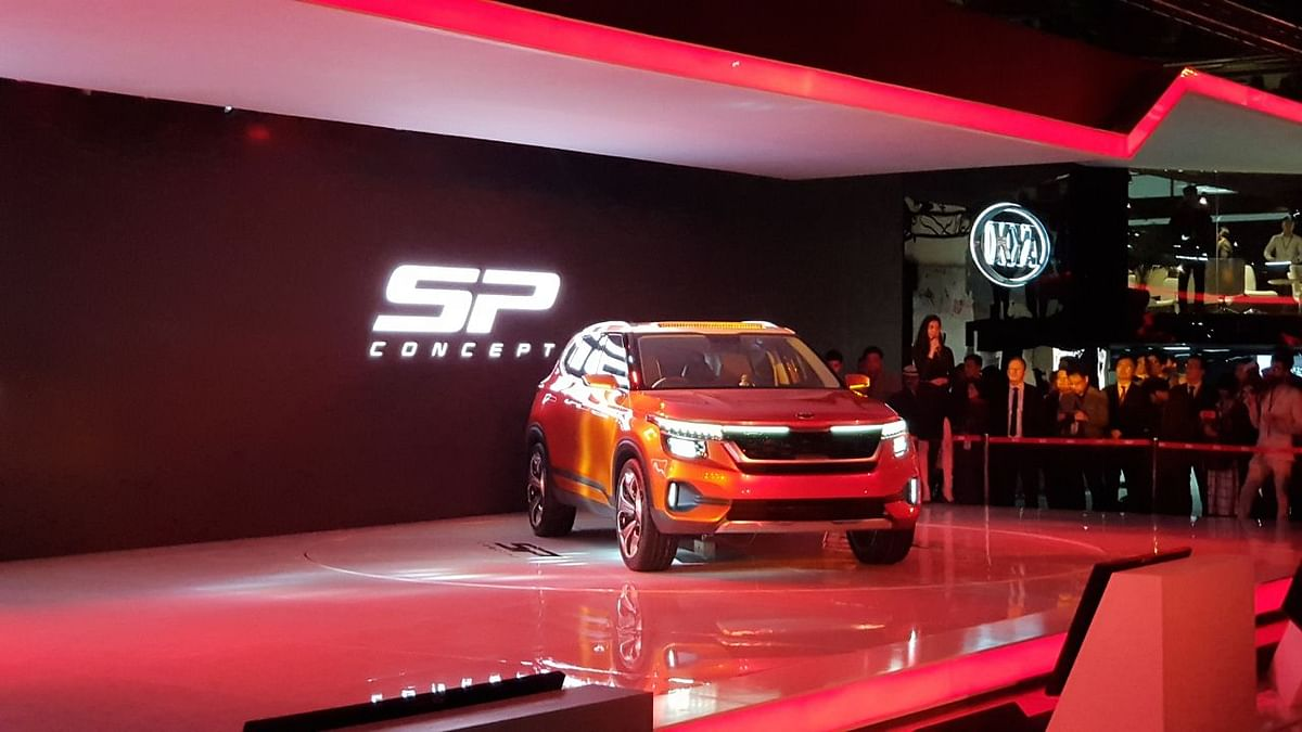 KIA Eyes India's Growing SUV Market With SP Concept at Auto Expo