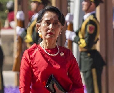 Myanmar State Counselor Aung San Suu Kyi. (File Photo: IANS)
