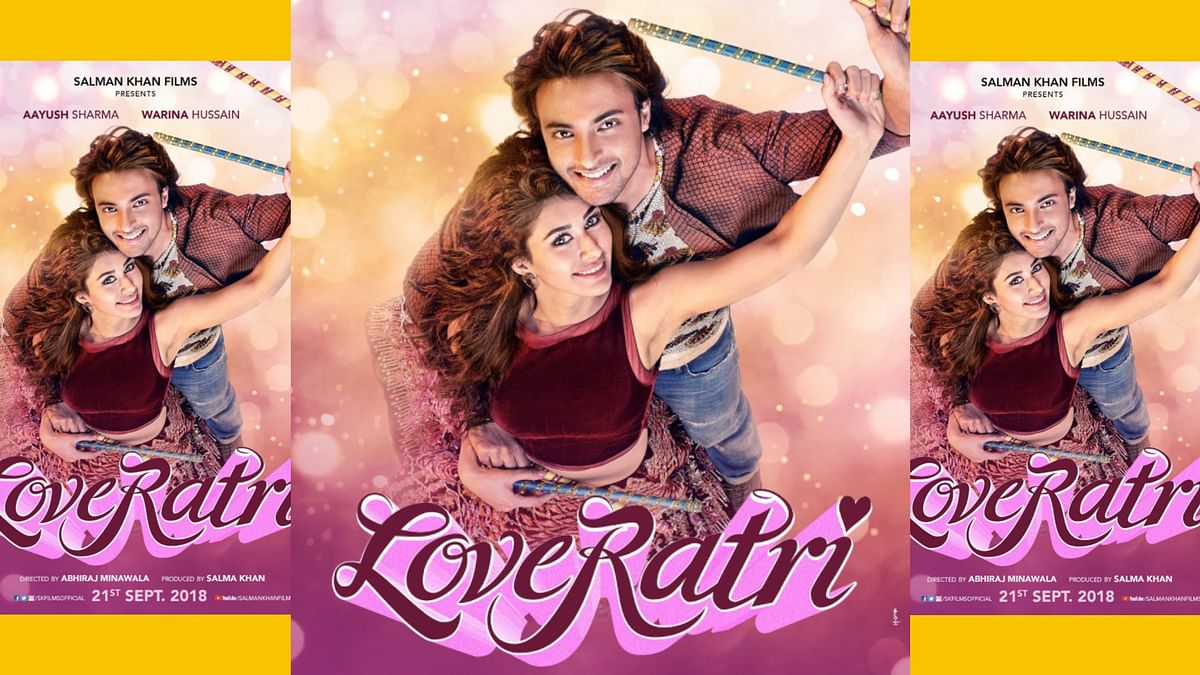 Warina Hussain and Aayush Sharma in <i>Love Ratri</i>.&nbsp;