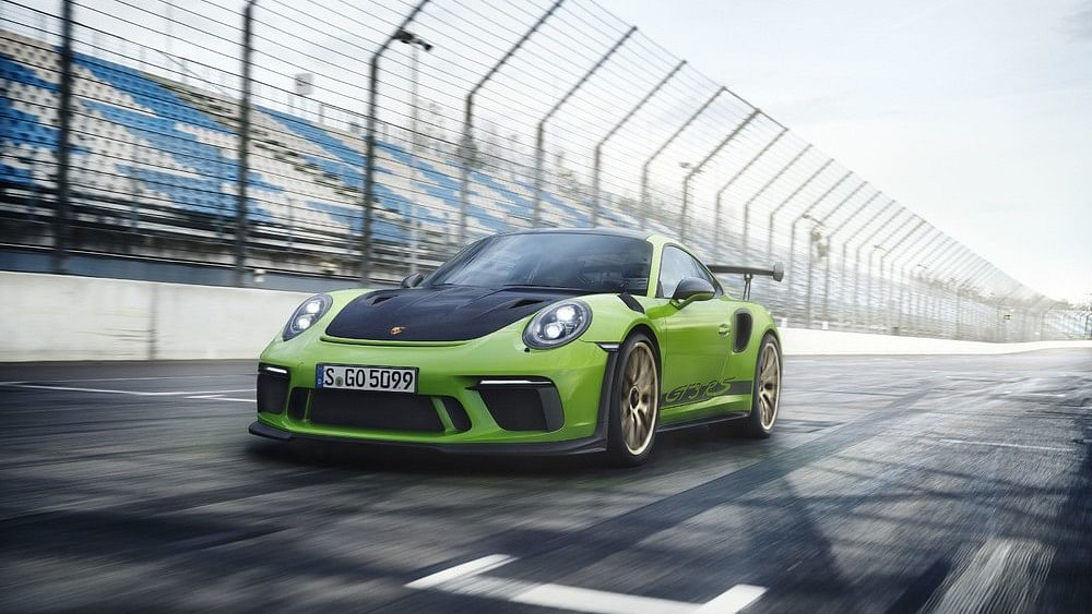 The Porsche 911 GT3 RS is the track-ready version of the standard car.