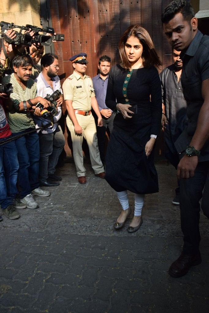 Genelia Deshmukh was spotted as well.
