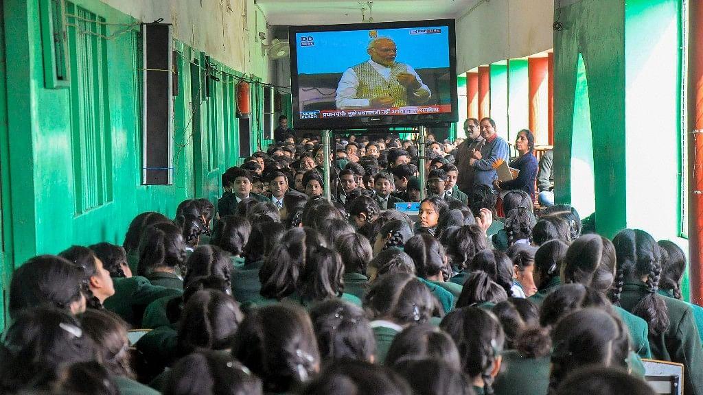 HP School Segregates Dalit Children to Watch PM's 'Pariksha' Talk