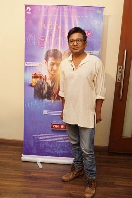 "Mumbai: Filmmaker Onir during the promotion of his upcoming film ""Kucch Bheege Alfaaz"" in Mumbai on Feb 6, 2018. (Photo: IANS)"