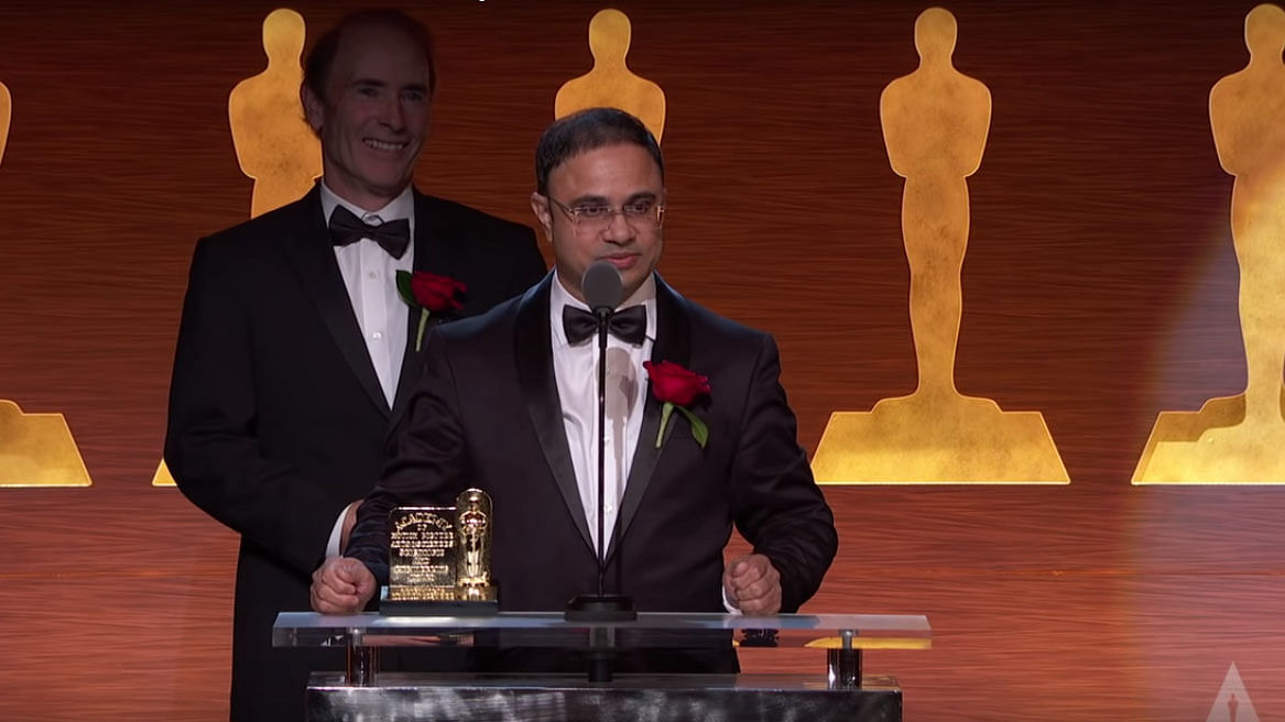Vikas Sathaye won the 2018 Oscars Scientific and Technical Awards