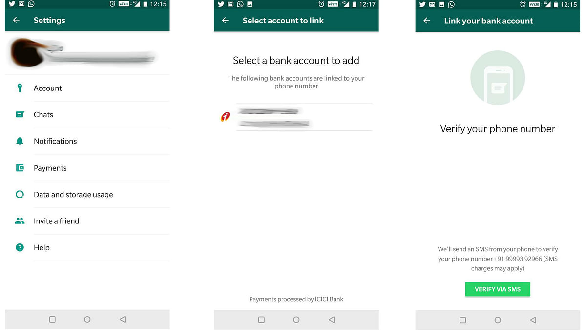 Link bank account to UPI with your mobile number.