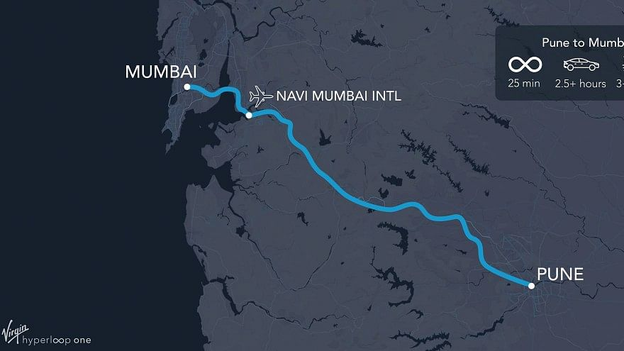 Mumbai-Pune in 25 Mins? World's 1st Hyperloop to Make it Possible