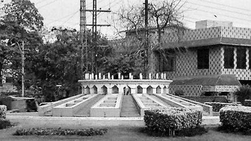 Lahore's Shadman Chowk.