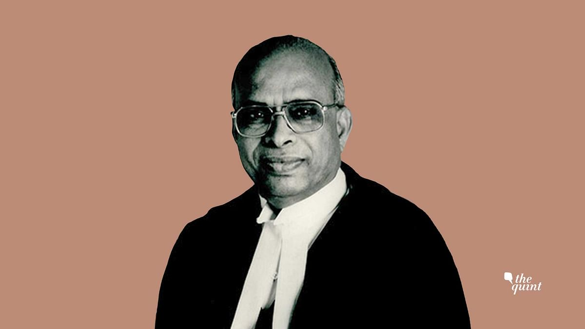 Justice Ramaswami, the only Supreme Court judge to face impeachment thus far.