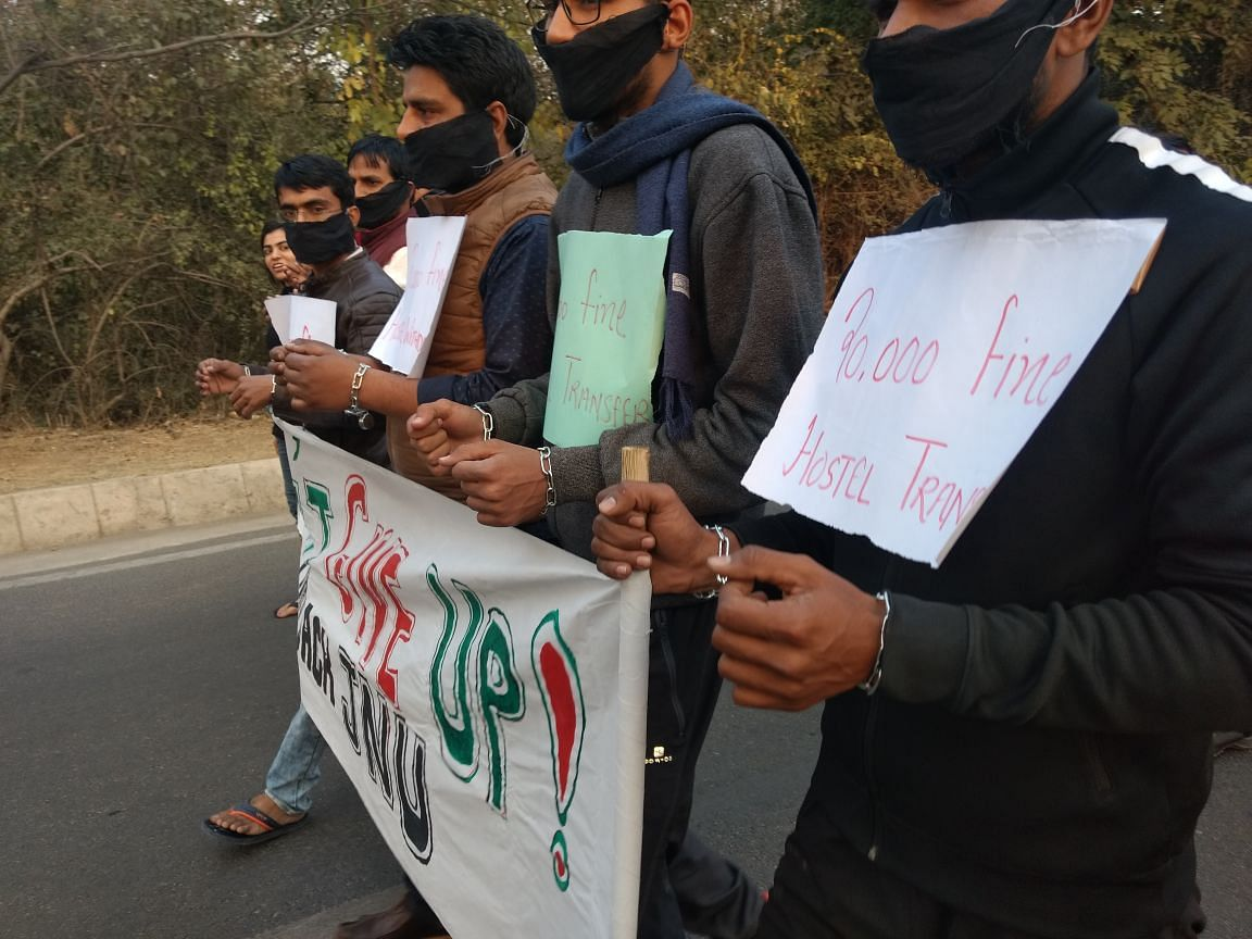 JNU Attendance Protests: FIR  Against 2 Students After 'VC Gherao'