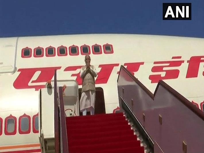 PM Modi Visits Oman's 300-Yr-Old Temple, Boards Plane for Delhi