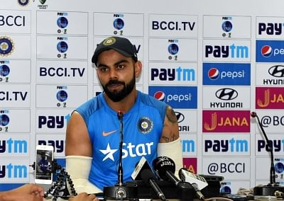 Indian cricket Captain Virat Kohli. (File Photo: IANS)