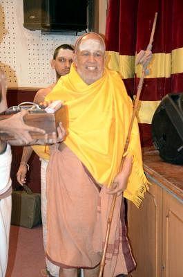 Kanchi Mahaswami Jayendra Saraswati Shankaracharya. (Photo: Sandeep Mahankal/IANS)