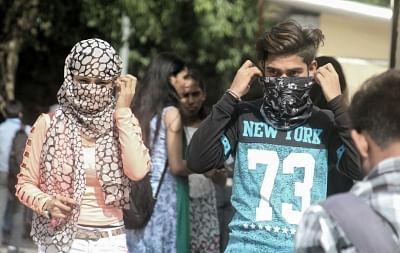 Mask your skin hassles in winter . (Photo: Bidesh Manna/IANS)