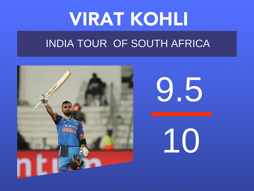 Report Card: How Virat Kohli & Co. Fared in South Africa