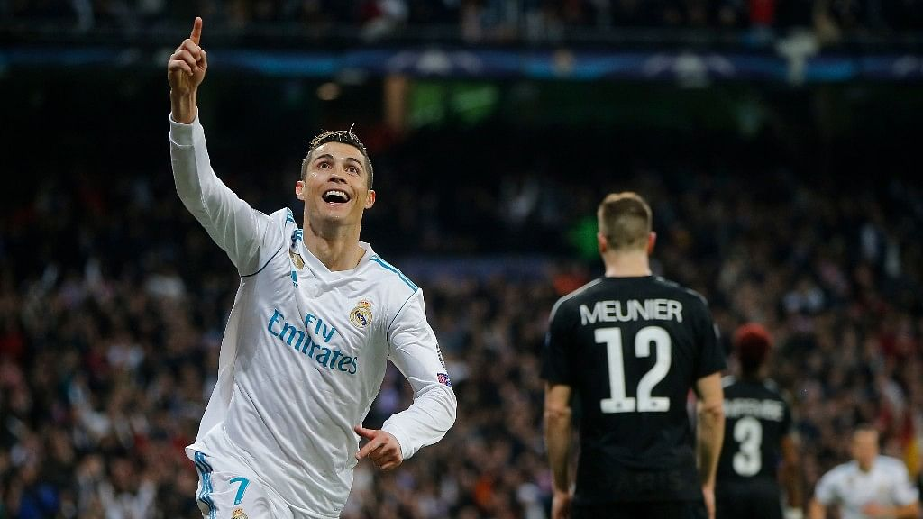 Ronaldo increased his Champions League tally with Madrid to 101 goals in 95 matches.