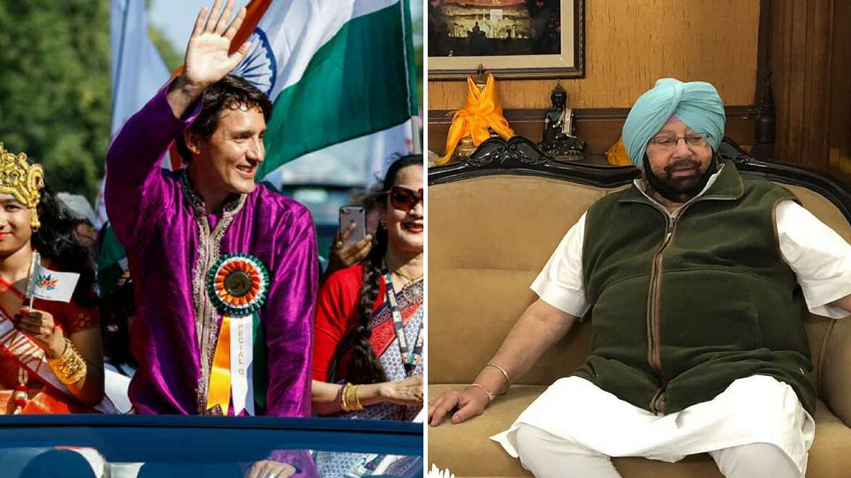 Amarinder Singh and Justin Trudeau to Meet Today