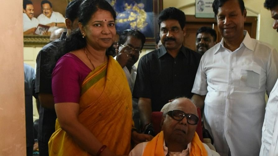 Many in the DMK believed that someone from the Congress party had leaked the tapes for political benefit.