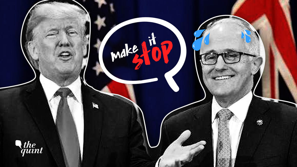 After Trump Meet, Turnbull Can't Turn Off Fake Smile; Alarms Press