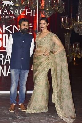 Mumbai: Actress Deepika Padukone the Lakme Fashion Week Winter Festive 2016, in Mumbai on Aug 28, 2016. (Photo: IANS)