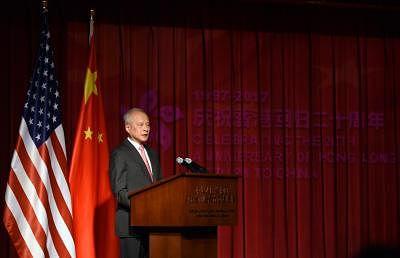 Chinese Ambassador to the United States Cui Tiankai (Xinhua/Yin Bogu/IANS)
