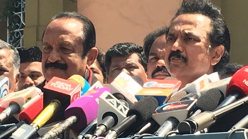 Stalin-Vaiko Bromance to Help Pivot DMK to Power in Tamil Nadu?