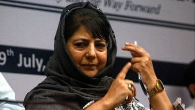 Mehbooba Mufti, Jammu and Kashmir Chief Minister.