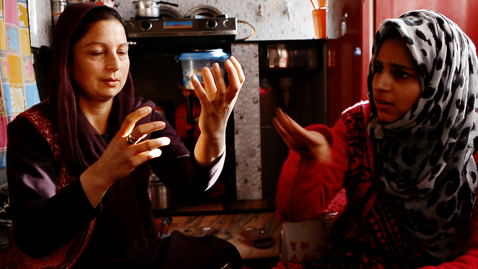 Arwa started learning sign language to communicate with her mother. She is the only one besides her mother in her entire joint family who knows the language.