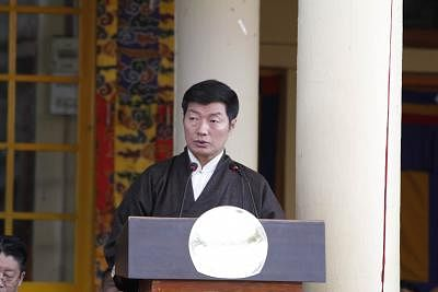Tibetan government-in-exile Prime Minister Lobsang Sangay. (File Photo: IANS)