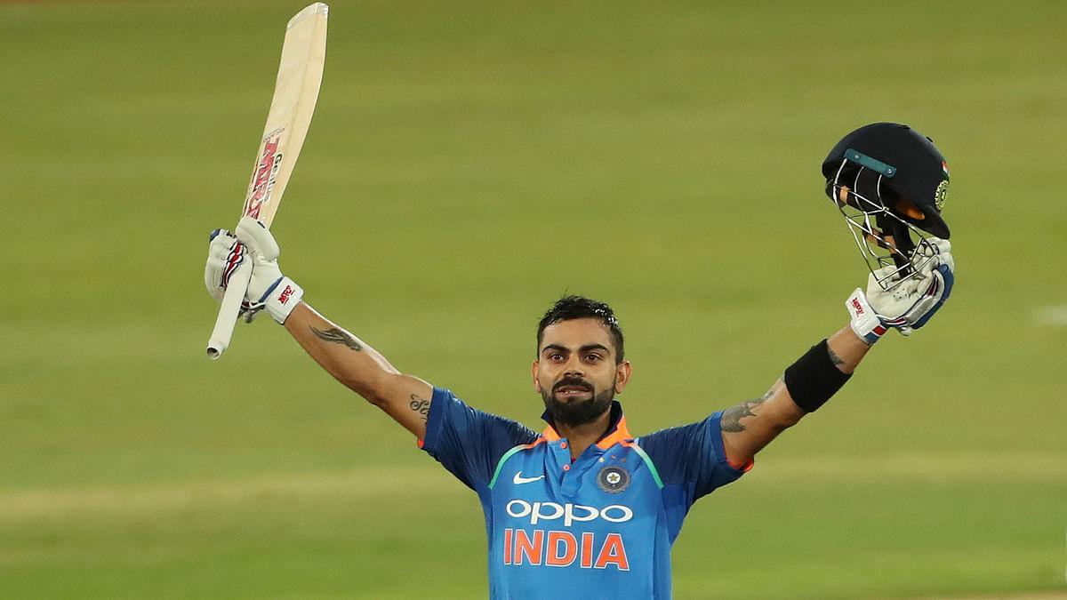Virat Becomes First to Score 500 Runs in a Bilateral ODI Series